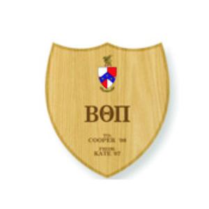 shield symbol wall plaque